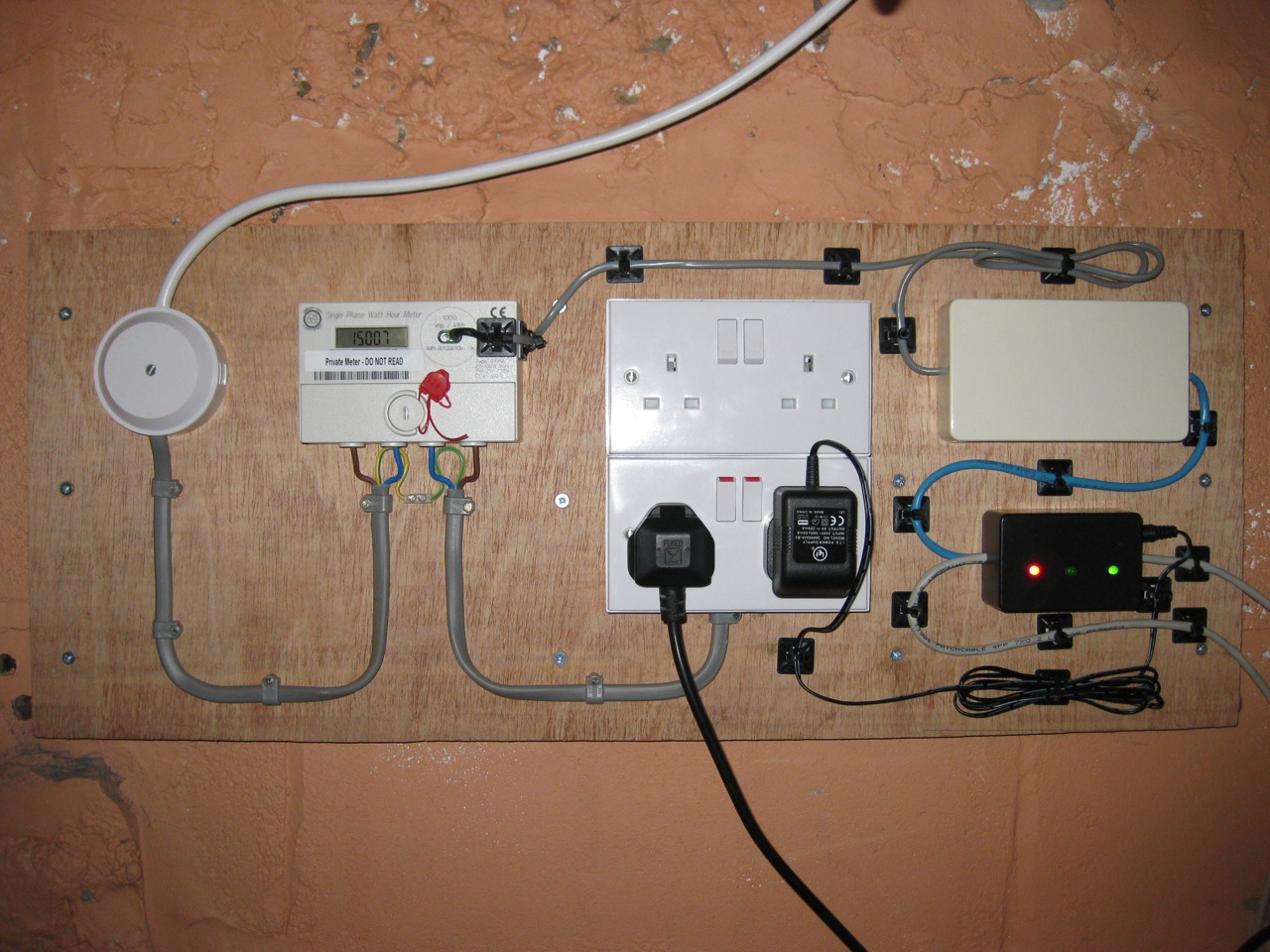 Electricity monitoring frankenups chris s digital realm